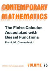 The Finite Calculus Associated with Bessel Functions