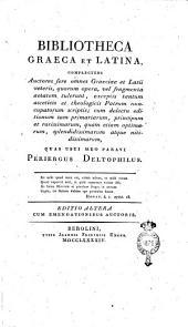 Catalogue de la Bibliothèque du comte de Rewiczky. Contenant les auteurs classiques grecs et latins
