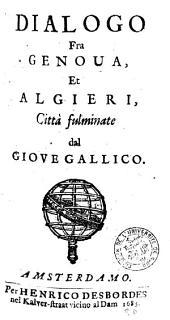 Dialogo fra Genova et Algieri, città fulminate dal Giove Gallico