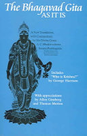 The Bhagavad Gita As It Is Book PDF