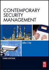 Contemporary Security Management: Edition 3