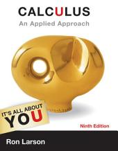 Calculus: An Applied Approach: Edition 9