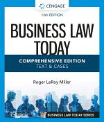 Business Law Today, Comprehensive
