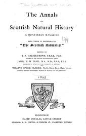 The Annals of Scottish Natural History: Issues 13-16