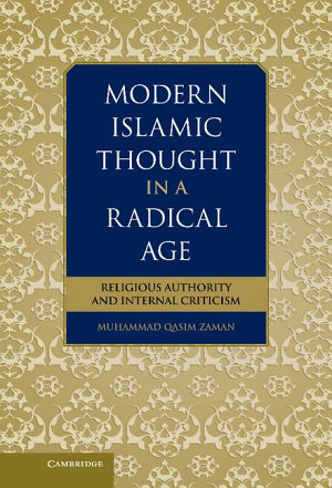 Modern Islamic Thought in a Radical Age PDF