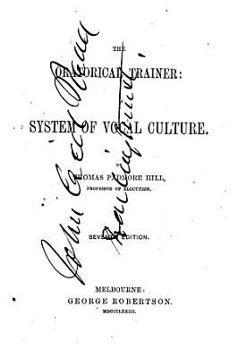 The Oratorical Trainer PDF