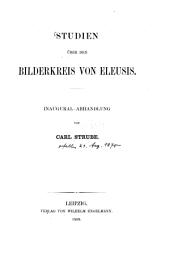 Studien über den Bilderkreis von Eleusis