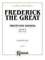 Twenty-five Sonatas, Volume III (Nos. 13-18)
