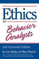 Ethics for Behavior Analysts PDF