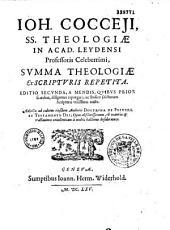 Summa theologiae ex Scripturis repetita a Johanne Coccejo