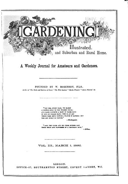 Download Gardening Illustrated Book