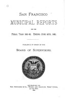 Municipal Reports for the Fiscal Year      PDF