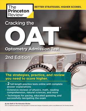 Cracking the OAT  Optometry Admission Test