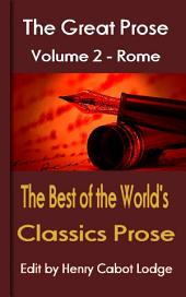 The Best of the World's Classics prose Volume 2: The Great Prose