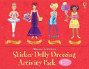 Sticker Doll Dressing Activity Pack - Red