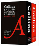 Collins English Dictionary and Thesaurus Set PDF