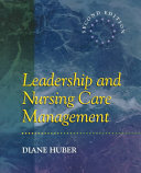 Leadership and Nursing Care Management PDF