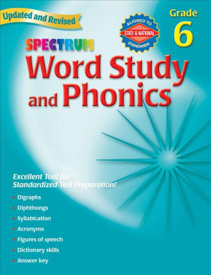 Word Study and Phonics  Grade 6