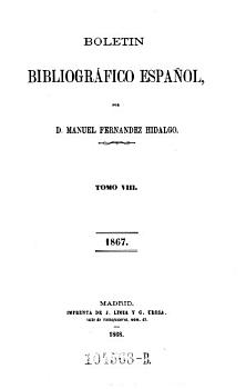 Boletin bibliografico espanol  Ser  2 1857 u d T  El bibliografo espanol y estrangero PDF