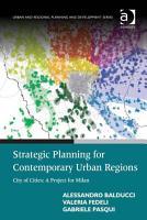 Strategic Planning for Contemporary Urban Regions PDF