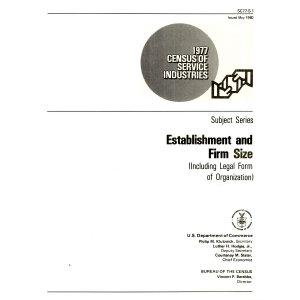 1977 Census of Service Industries PDF
