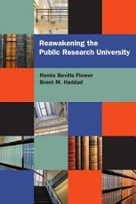 Reawakening the Public Research University PDF