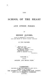 Sonnets and minor poems