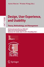 Design, User Experience, and Usability: Theory, Methodology, and Management