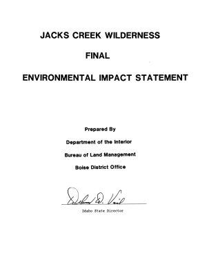 Jacks Creek Wilderness PDF
