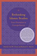 Rethinking Islamic Studies