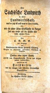 Der Sächsische Landwirth: Band 3