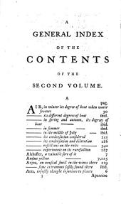 The Philosophical History and Memoirs of the Royal Academy of Sciences at Paris: Or, an Abridgment of All the Papers Relating to Natural Philosophy, which Have Been Publish'd by the Members ... Illustrated with Copper-plates. The Whole Translated and Abridged, by John Martyn, ... and Ephraim Chambers, ... In Five Volumes