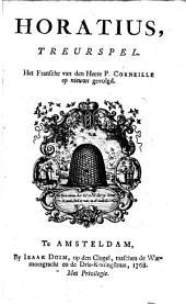 Horatius,: treurspel, Volume 1