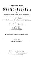 Kirchen Lexikon  oder Encyklop  die der katholischen Theologie  herausg  von H J  Wetzen und B  Welte  12 Bde  and  Namen  und Sachregister PDF