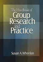 The Handbook of Group Research and Practice PDF