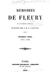Première série, 1757-1789