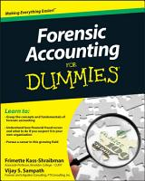 Forensic Accounting For Dummies PDF