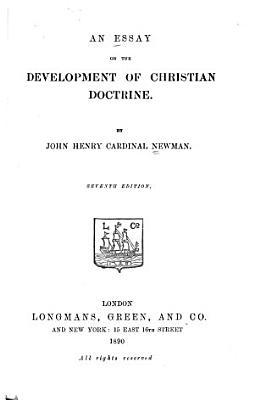 An Essay on the Development of Christian Doctrine PDF