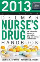 2012 Delmar Nurse s Drug Handbook PDF