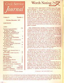 Civil Service Journal PDF