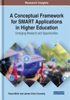 A Conceptual Framework for SMART Applications in Higher Education  Emerging Research and Opportunities PDF