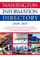 Washington Information Directory 2020 2021 PDF