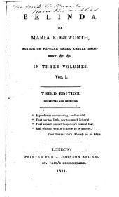 Belinda: Volume 1