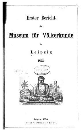 Bericht des Museums f  r V  lkerkunde in Leipzig PDF