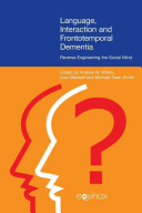 Language  Interaction  and Frontotemporal Dementia