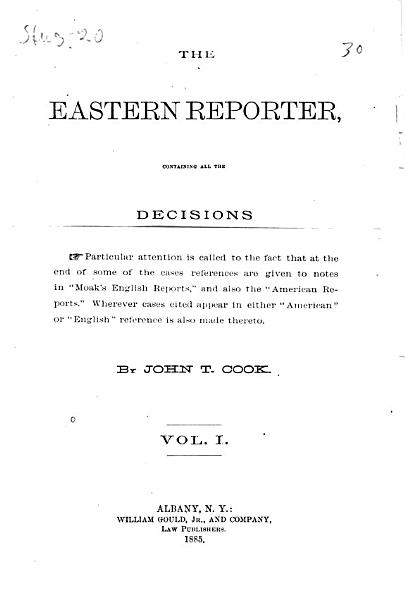Download The Eastern Reporter Book