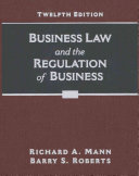 Business Law and the Regulation of Business   Mindtap Business Law  1 Term 6 Month Printed Access Card
