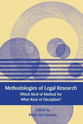 Methodologies of Legal Research PDF