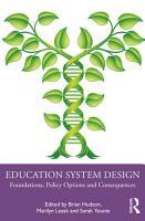 Education System Design PDF