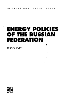 Energy Policies of the Russian Federation PDF